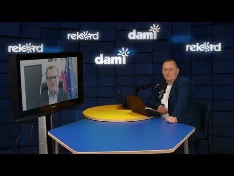 Prezydent Radosław Witkowski w rozmowie z Radiem Rekord i Telewizją Dami.