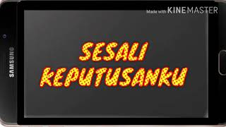 Video DADALI TERBARU - Sesali keputusanku - LIRIK MP3, 3GP, MP4, WEBM, AVI, FLV April 2019