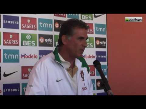 Palabras de Carlos Queiroz sobre la Selección Portuguesa
