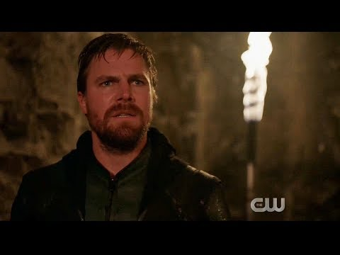 Oliver returns from the dead | Crisis On Infinite Earths Part Two Scene