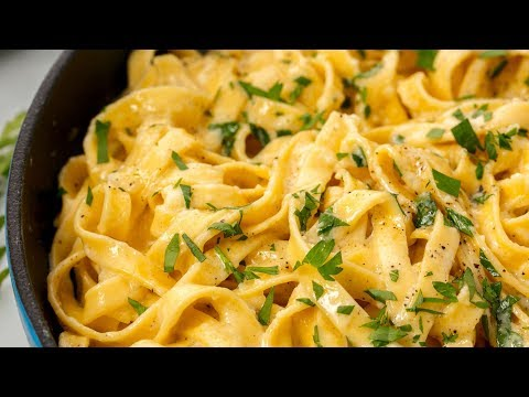How To Make The Creamiest Fettuccine Alfredo You'll Ever Eat | Delish Insanely Easy