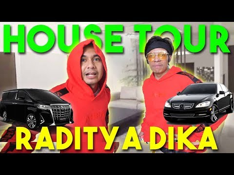 HOUSE TOUR RADITYA DIKA #AttaGrebekRumah | EPS 2 | PART 1