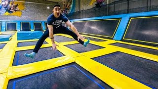 Video LE TRAMPOLINE PARK LE PLUS FUN !! MP3, 3GP, MP4, WEBM, AVI, FLV November 2017