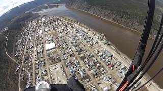 Dawson City (YT) Canada  City new picture : Paragliding in Dawson City Yukon