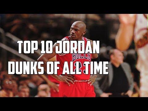 top ten FLIGHTS of Michael Jordan