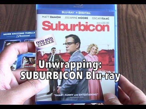 Unwrapping   'SUBURBICON' Blu-ray