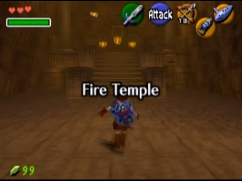 run - Starting in the Fire Temple and speculating about Ganon's so-called