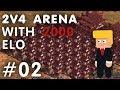 Age of Empire II HD : 2v4 Arena Found Reporter! #02