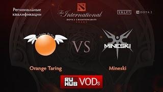 Taring vs Mineski, game 1