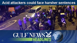 Daily headlines from the UAE and around the world brought to you by Gulf News. Acid attackers could face harsher sentences.