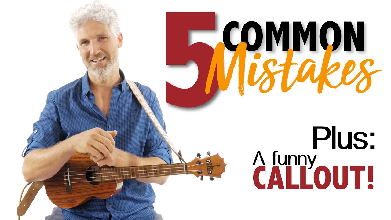 5 Mistakes Ukulele and Guitar Players Make Counting In Songs and How To Fix It