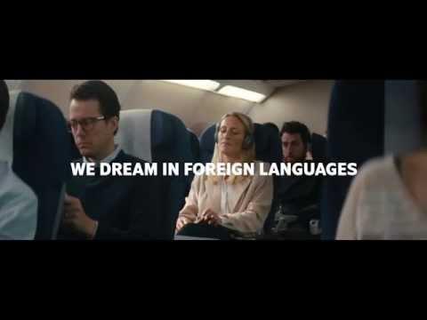 WE DREAM IN FOREIGN LANGUAGES - SAS (50 sec)