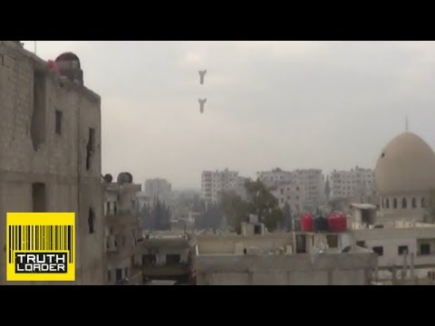 bomb - This incredibly close call took place in the Syrian city of Dara'a in the south-west of the country on 12 January. According to local activists Dara'a was he...