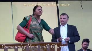 April Community News with Gauri (part 6) including IAGB's Sach Aur Sach Ke Siwa