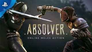 Absolver is a online melee combat game where players are placed behind the mask of a Prospect under control of the Guides, the new rulers of the fallen Adal Empire, who have placed you here to determine your worth in joining their elite corps of Absolvers.absolver.devolverdigital.comhttps://www.playstation.com/en-us/games/absolver-ps4/Copyright 2017 Sloclap. All Rights Reserved.