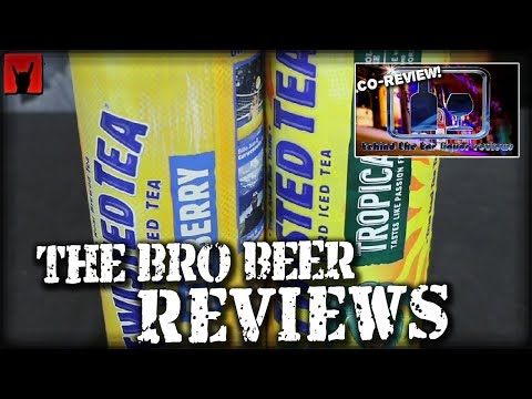 Twisted Tea Blueberry & Tropical 5% Abv - Behind The Bar Co-Review