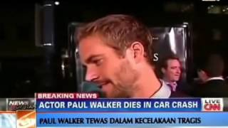 Nonton Paul Walker (Brian O' Conner) Fast & Furious Meninggal Dunia Akibat Kecelakaan Hebat Film Subtitle Indonesia Streaming Movie Download