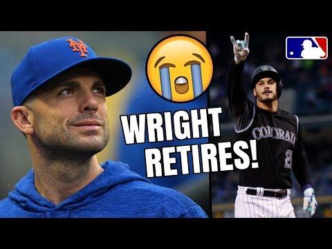 David Wright RETIRING? Press Conference! Nolan Arenado Makes MLB History! MLB Highlights & Recap