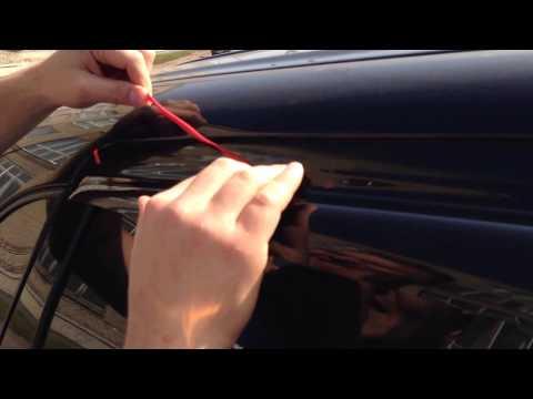 Дефлекторы боковых окон на mitsubishi lancer ix снимок