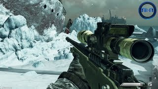 Call Of Duty: GHOST Multiplayer - Sniping Gameplay, Vector SMG&Support Killstreaks! (COD Ghosts)