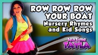 Row Row Row Your Boat with lyrics, Nursery Rhymes