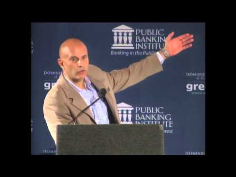 Tim Canova – Public Banking 2013: Funding the New Economy, June 3rd 2013