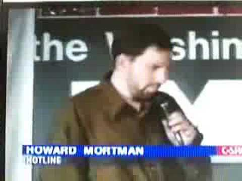 HOWARD MORTMAN, WASHINGTON'S FUNNIEST CELEBRITY