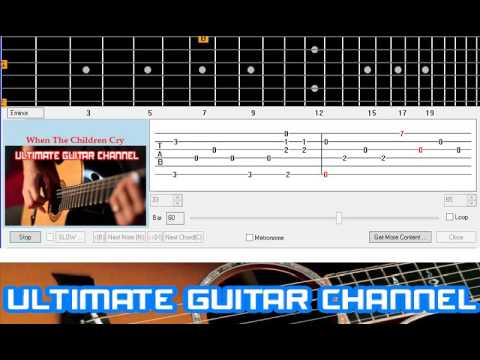[Guitar Solo Tab] When The Children Cry (White Lion) Mp3
