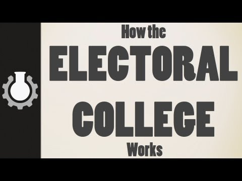 college video - How the Electoral College works in the modern world. **CGPGrey T-Shirts for sale!**: http://goo.gl/1Wlnd Grey's blog: http://www.cgpgrey.com/blog/ If you wou...