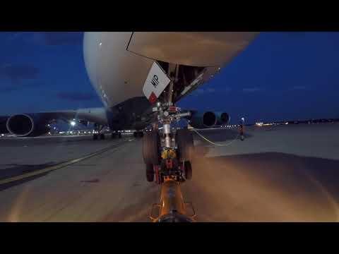 Ramp Life: HiFly A380 pushback