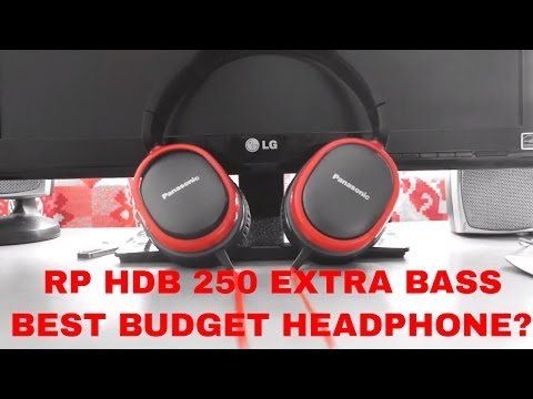 Panasonic RP HBD 250 Review||EXTRA BASS||Over Ear Headphone Review