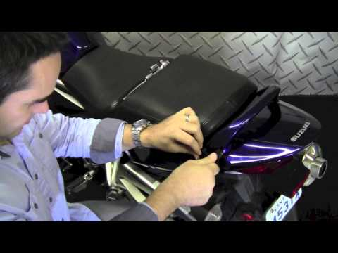 Givi FZ539 Topcase Rack install on Suzuki Bandit 1250S