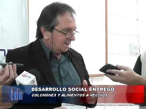 ENTREGA DE COLCHONES – Tosolini