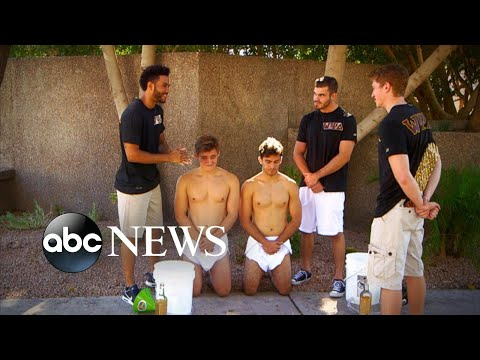 College Students Engage In Fraternity And Sorority Hazing L What Would You Do?