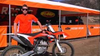 6. KTM 2011 Motocross TEST - KTM 150SX - KTM 250SX - KTM 350SX