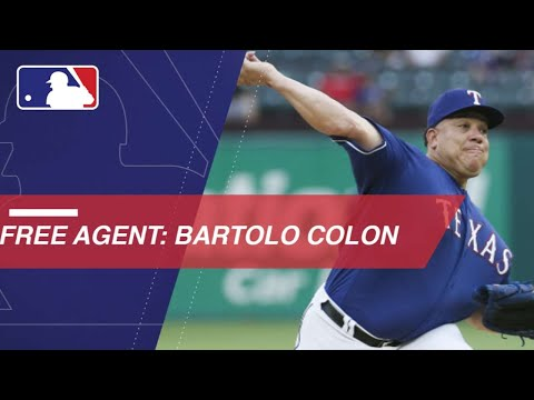 Bartolo Colon to enter free agency this offseason