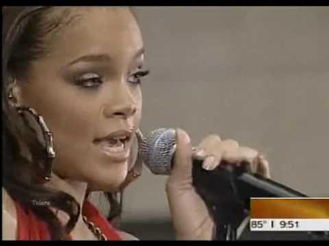 Rihanna - Unfaithful (Today Show 2006)