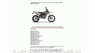 4. 2009 KTM XC 530 W  Top Speed Transmission Info Dealers Engine superbike Features Specification