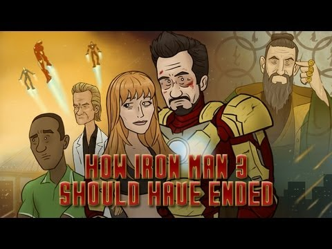 HISHEdotcom - Tony Stark returns to HISHE for How Iron Man 3 Should Have Ended. Thank you for watching! Give us a 'Like' if enjoyed it and please 'Subscribe' if you want u...
