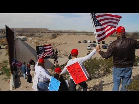 USA: Befürworter der Grenzmauer demonstrieren