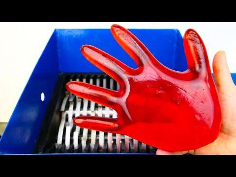 JELLY HAND VS SHREDDING MACHINE!