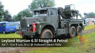 Video Leyland Martian 6x6 6.5 litre Straight-8 Petrol Military Recovery Vehicle MP3, 3GP, MP4, WEBM, AVI, FLV November 2018