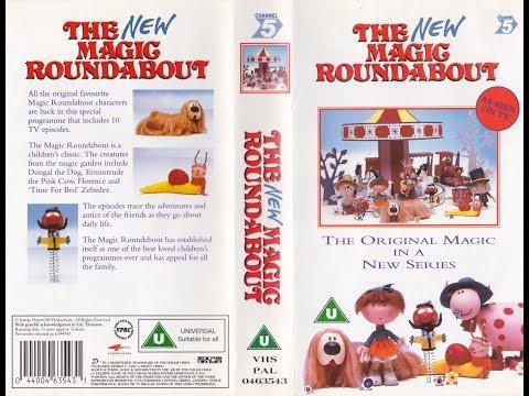 The New Magic Roundabout (1997 UK VHS)