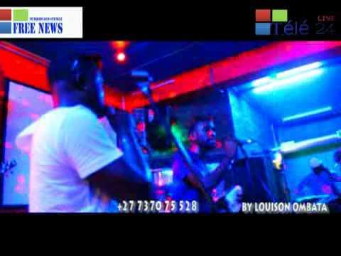 TÉLÉ 24 LIVE: Free News, Sylva Kitenge vieux pongi parle de son album à CAPE-TOWN