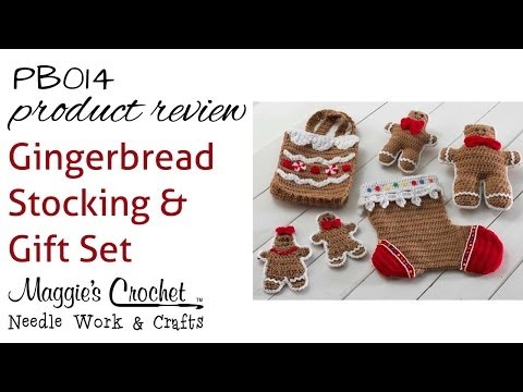 Gingerbread Stocking & Gift Set Product Review PB014