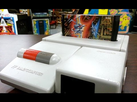 Classic Game Room - NINTENDO AV FAMICOM Console Review