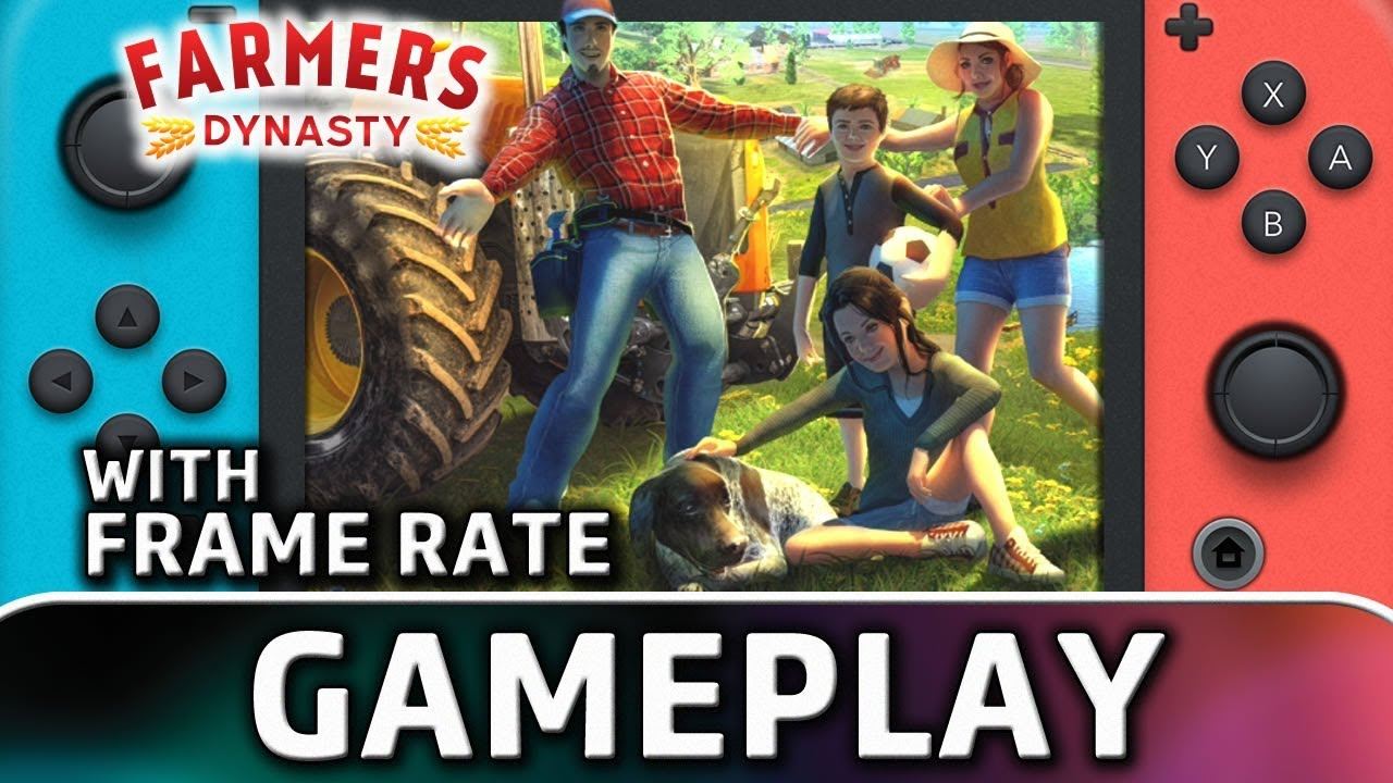Farmer's Dynasty   Nintendo Switch Gameplay and Frame Rate