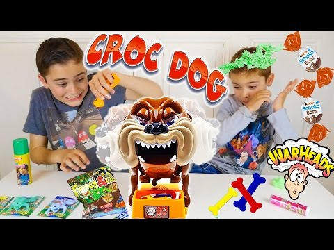 CHALLENGE CROC DOG - Attention Chien Méchant ! Un Gage ou une Surprise ?