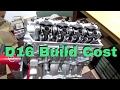 D16 Build Cost