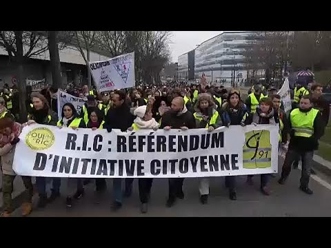 Frankreich: Siebtes Wochenende in Folge - Gelbwestenp ...